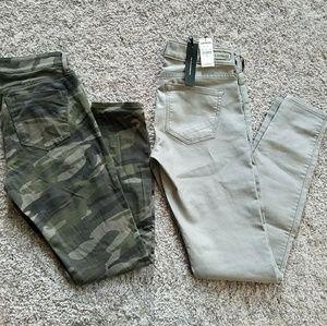 Express jeans bundle size 0's